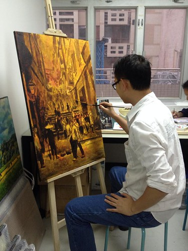 Painting Old Hong Kong