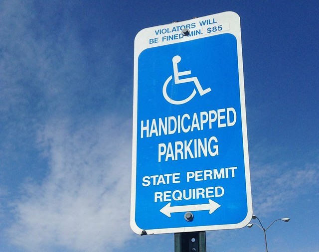 San Francisco Handicapped Parking
