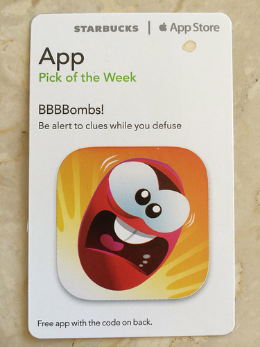 Starbucks iTunes Pick of the Week - BBBBombs!