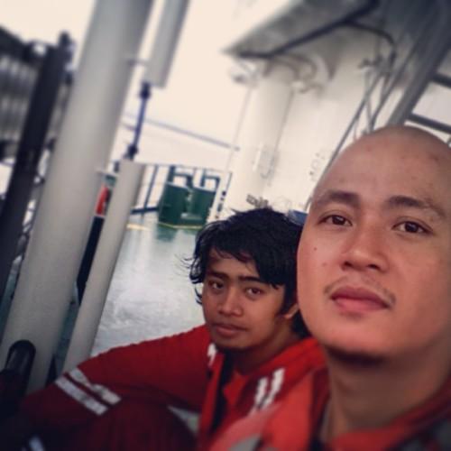Walang magawa sa gangway pabor,while waiting sa next pilot