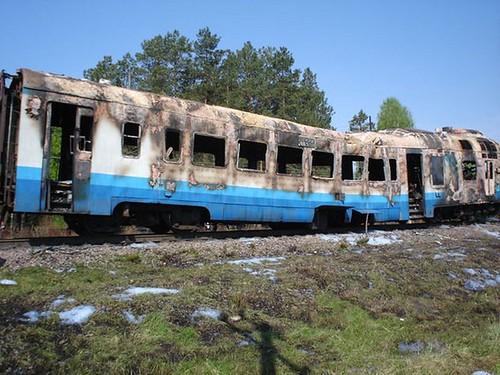 Дизель-потяг згорів… відстарості?