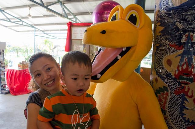 Visiting Tuaran Crocodile Farm during Sabah Trip