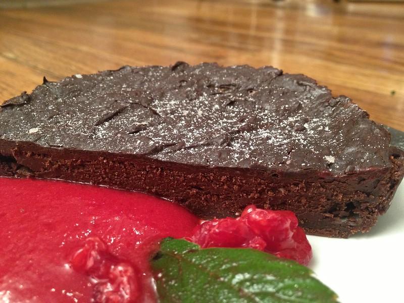 Chocolate Dolce Tart