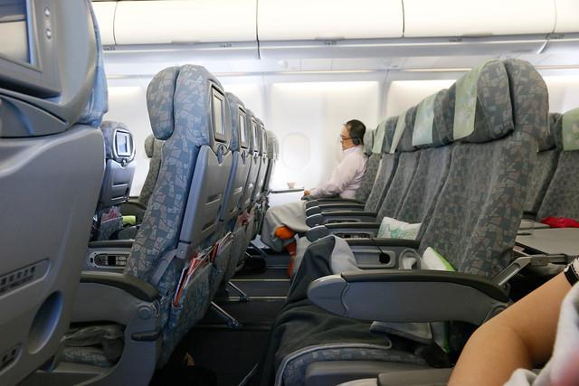 長榮航空 BR197 載客不多