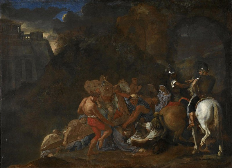 Charles Le Brun - The Road to Calvary (c.1640)