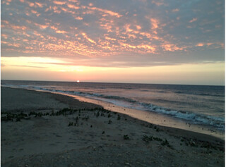 ecuador sunset