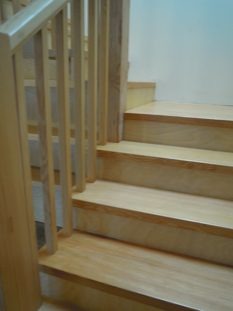May 19 - osmo oiled fir treads
