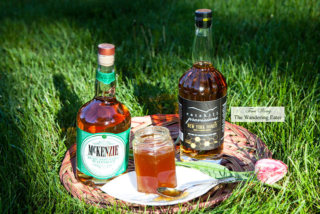Catskill Provisions New York Honey Whiskey and Finger Lakes McKenzie Whiskey