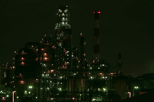 Nightscape at Kawasaki Industrial Zone 30