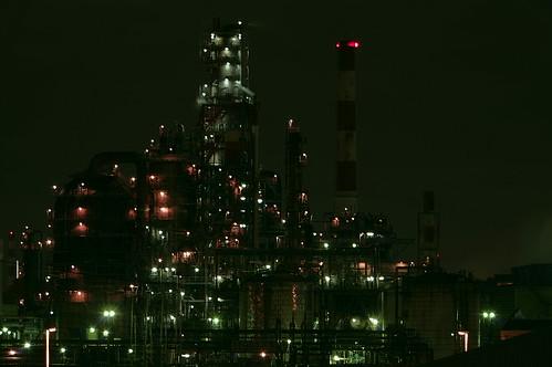 Nightscape at Kawasaki Industrial Zone 30