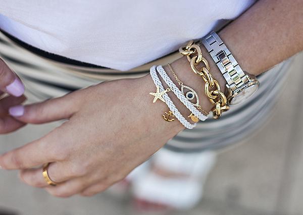 fashionpea, shlomit ofir, bracelets, arm party, אפונה בלוג אופנה, תכשיטים, צמידים, שלומית אופיר