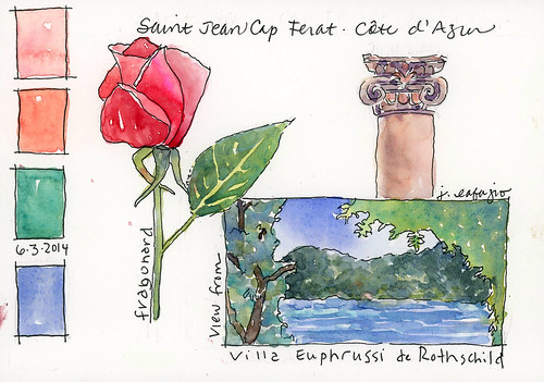 from my sketchbook ~ France 2014