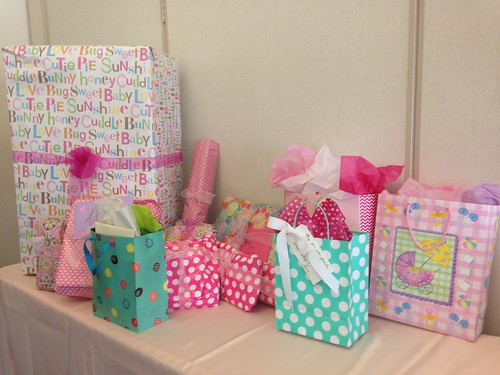 Baby shower gifts for a girl