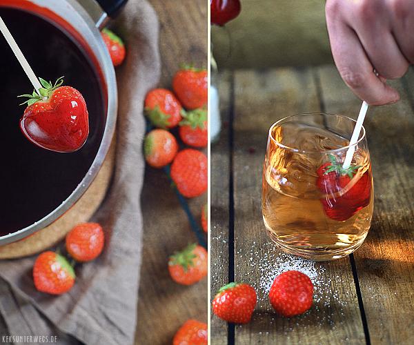 Candied Strawberries   @ yumlaut.de