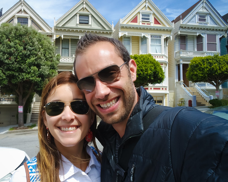 Deya and Nan at Painted Ladies