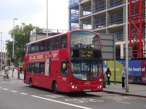 Abellio London 9020 on Route 343, Elephant & Castle