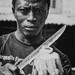 Coconut Cutter Sierra Leone by Robs Photo's