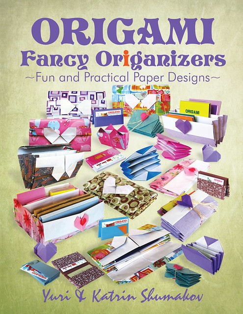 Origami Fancy ORiGANIZERS Book!