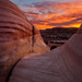 A Southern Utah Sunset by chris lazzery