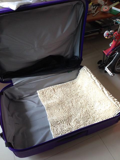 Brompton in Lojel luggage
