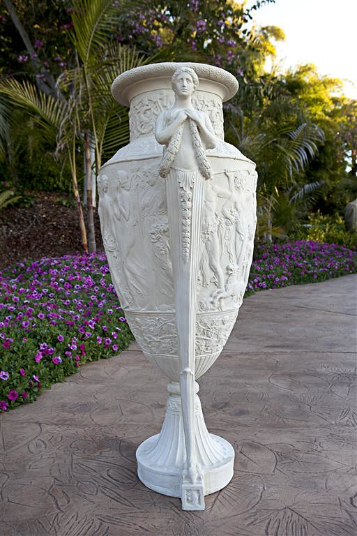 Greek Siren Urn