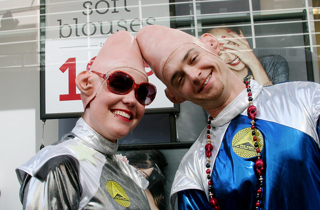 Coneheads Couple Costume Photo by Sherrie Thai of ShaireProductions.com