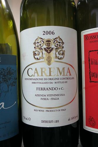 Luigi Ferrando Nebbiolo di Carema Etichetta Bianca 2006  Canavese DOC