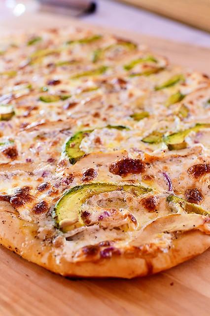 Chicken Avocado Pizza
