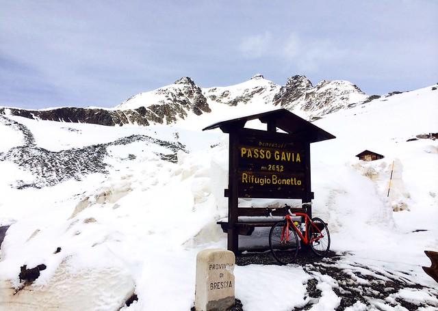 Passo Gavia 2,652m
