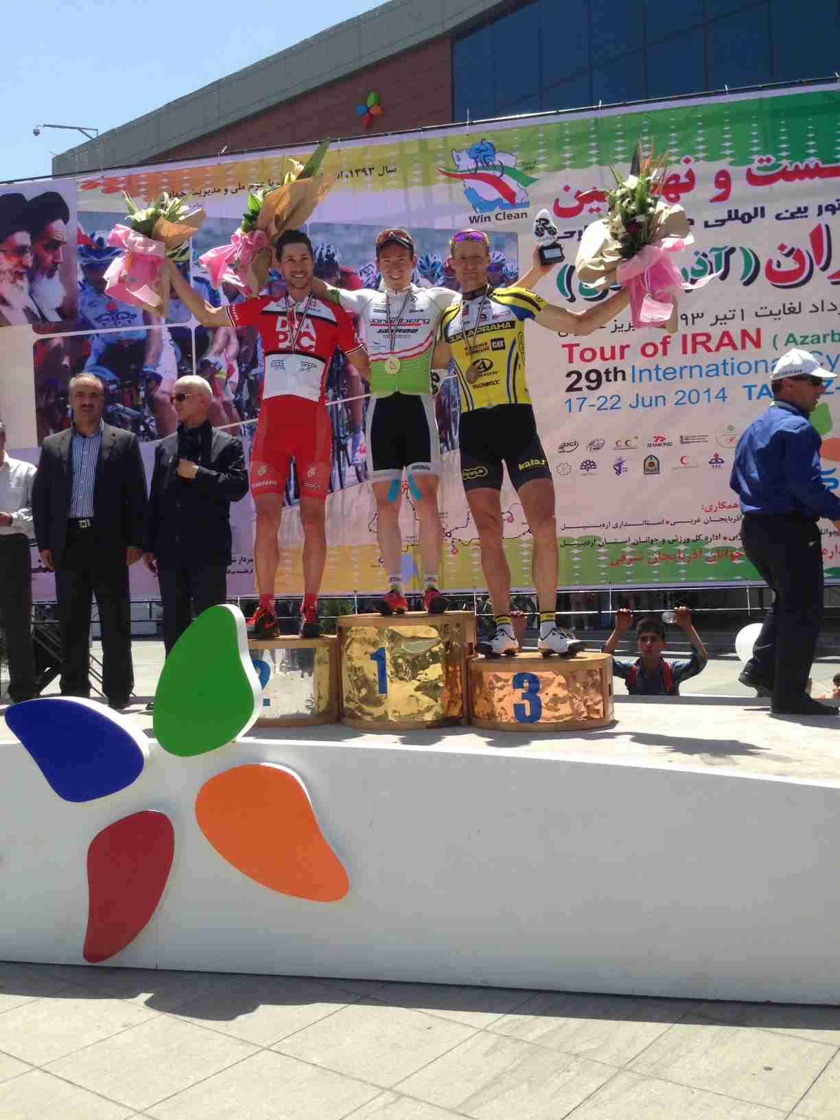 Schnaidt 6  Etappe Iran Sieg