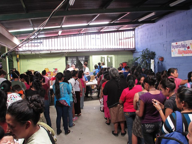 Soap Distribution, Children International Office in Guatemala, May 2014 #soapsaveslives