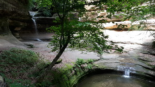 Beautiful LaSalle Canyon in Starved Rock SP