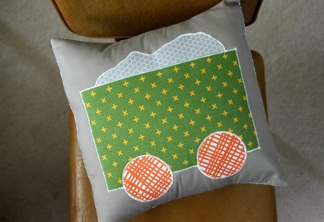 Train Pillow Cart!