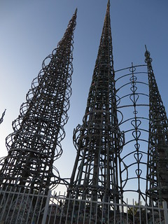 Image of Watts Towers of Simon Rodia State Historic Park.