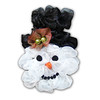 Snowman Deco Mesh