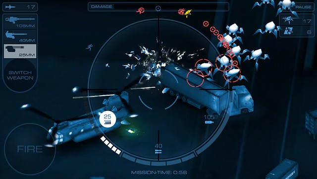 Gunship X on PS Vita