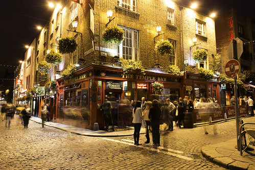 Dublin, Temple Bar atmosphere