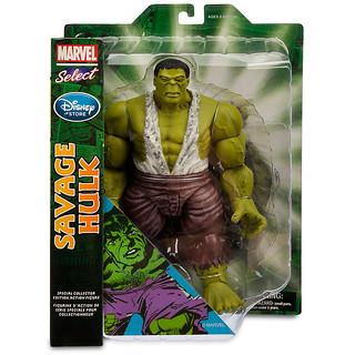 Marvel Select – 漫畫版野蠻浩克 Savage Hulk 迪士尼商店限定