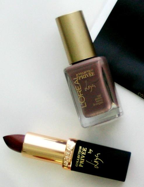 l'Oreal nude collection liya, l'oreal liya, nude couture, collection privee, exclusive nude makeup collection