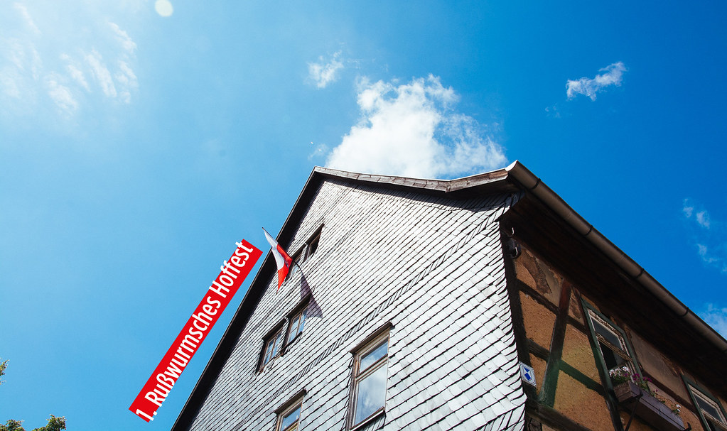Rußwurmsches Herrenhaus und Himmel