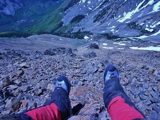 Foot Dangle on Quail Mountain