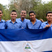 Representantes de la Colonia Nicaraguense