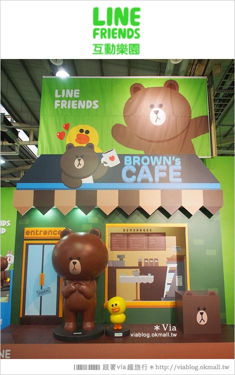 【台中line展2014】LINE台中展開幕囉!趕快來去LINE FRIENDS互動樂園玩耍去!(圖爆多)48