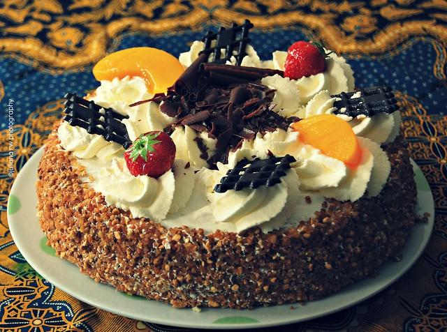 Mami's birthday cake