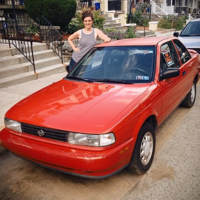 Rachel's Nissan