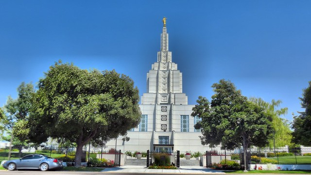 Idaho Falls Temple HDR