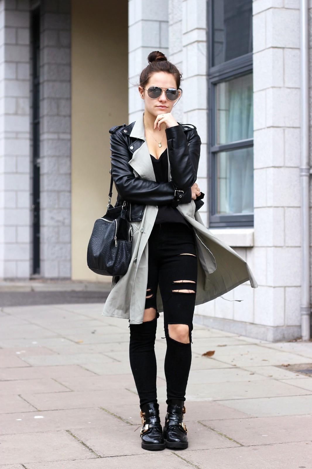 Choies long sleeveless waistcoat 1