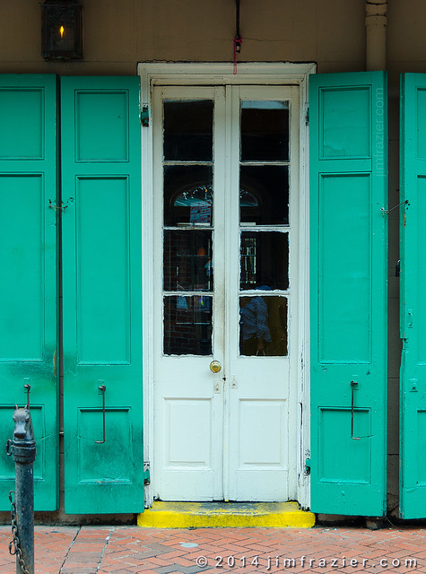 Doors of the French Quarter IV