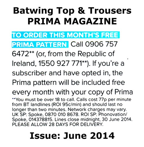 Prima Magazine - Pattern, June 2014 (04)