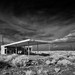 abandoned gas station. north edwards, ca. 2014. by eyetwist